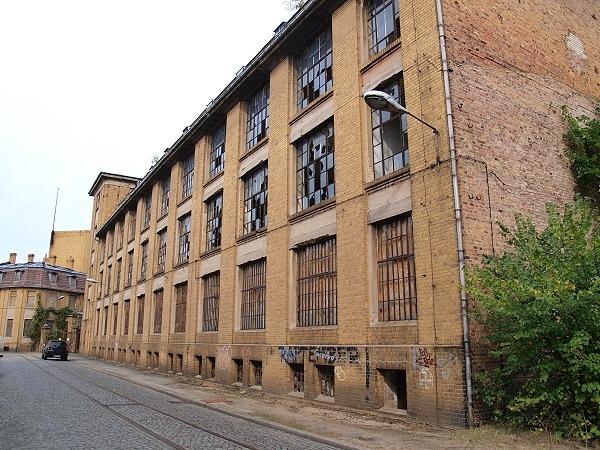verschwundene fabriken forst lausitz bilder